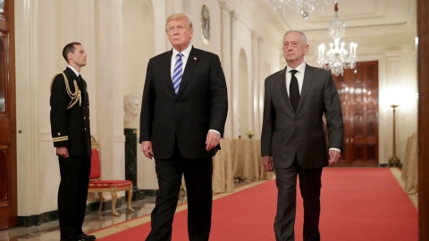 After Syria withdrawal, US Defence Secretary Jim Mattis resigns citing differences with Trump