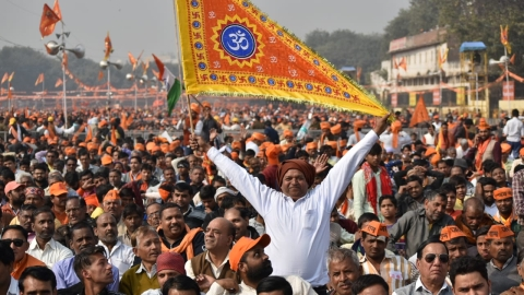 Sant Sammelan: Those in power had promised to build Ram Temple, RSS leader Joshi taunts Modi