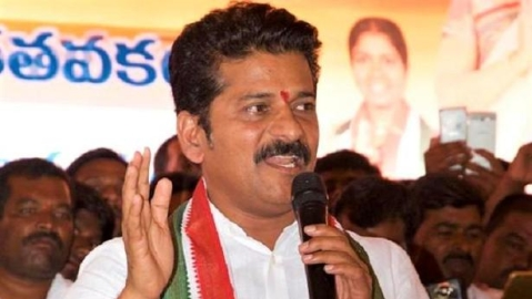 Telangana Congress leader Revanth Reddy detained ahead of KCR's rally