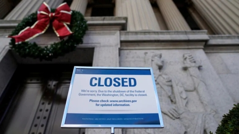 US govt shutdown hurting markets, no agreement in sight yet
