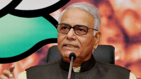 Yashwant Sinha: Just to take credit, Modi simply renamed existing schemes