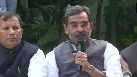 Upendra Kushwaha: Didn't like being part of 'RSS government'
