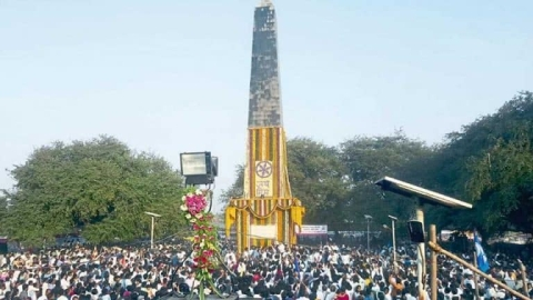 In a first, no Dalit rally at Bhima Koregaon on January 1