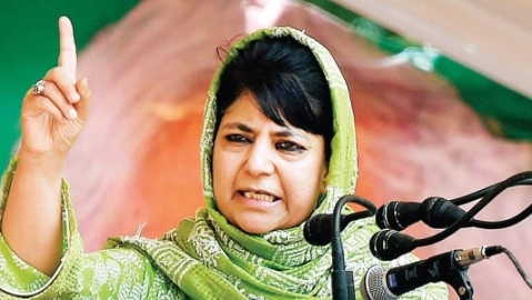 'Thankfully, they haven't given voting rights to cows,' Mehbooba hits out at BJP