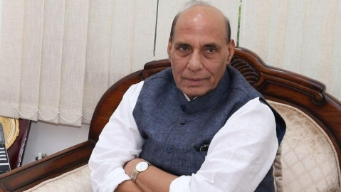 Rajnath Singh calls for patience as BJP MP demands law for Ram temple at party meet