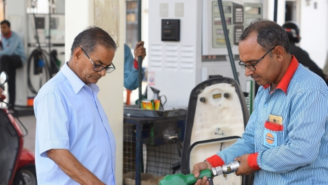 With elections over, petrol price hiked, diesel remains unchanged