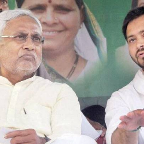 """What's your take... Chacha ji?"" Tejashwi asks Nitish after BJP's poor poll show"