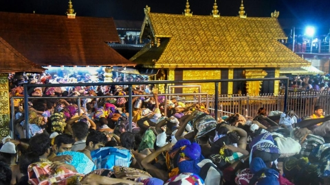 Sabarimala: Transgenders permitted to visit temple