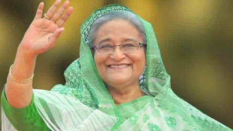 Sheikh Hasina scores landslide win in Bangladesh amid doubts about fairness of poll process