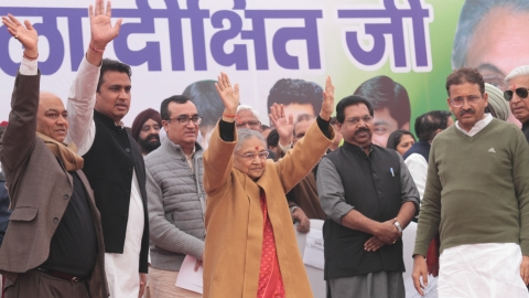 Sheila Dikshit 2.0 returns to DPCC after 20 years