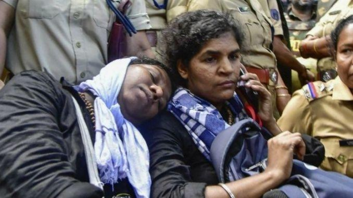 Two women below 50 offer prayers at Sabarimala Temple, a first after SC verdict