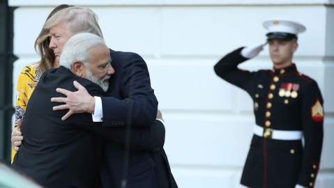 US President Trump again mocks PM Modi