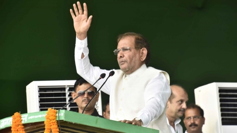 "Sharad Yadav: Two kinds of alliances ""total unity"", ""possible unity"" to remove Modi govt"