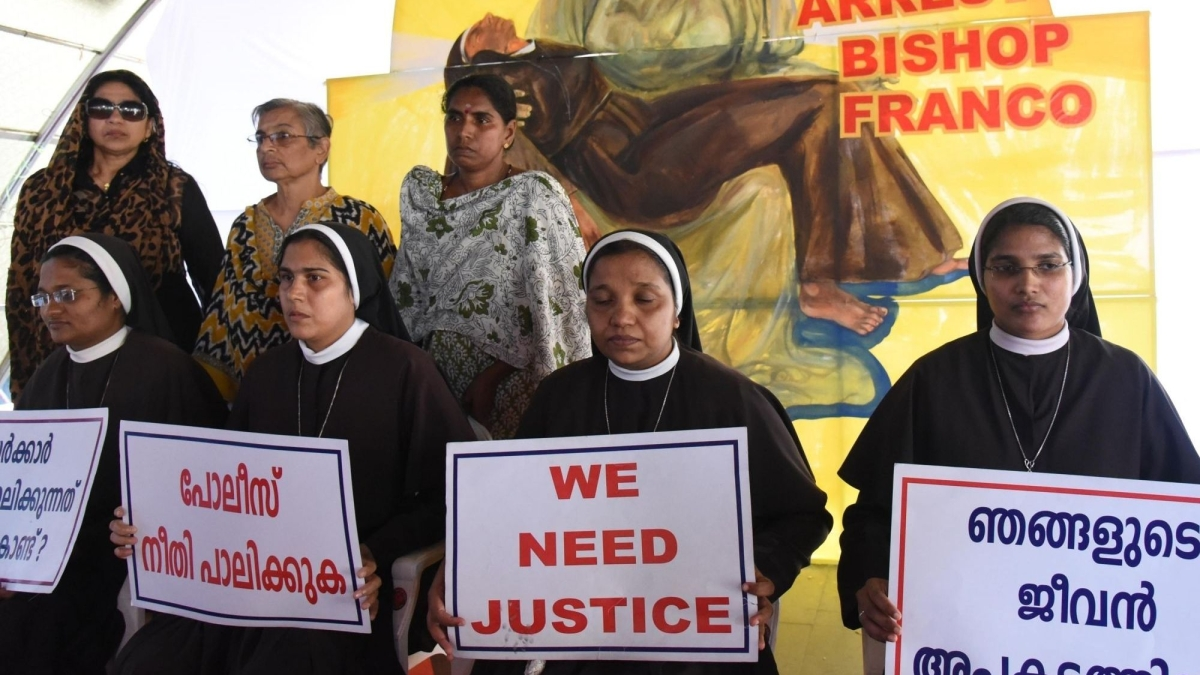 Nuns who protested against Bishop Franco Mulakkal handed transfer orders; seek Kerala CM's intervention