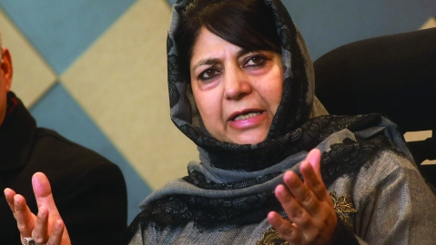 Mehbooba's PDP faces existential crisis in Jammu and Kashmir