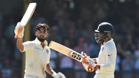 India declare 1st innings for 622/7 vs Australia on Day 2