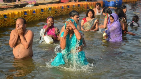 Kumbh Mela: Lakhs take holy dip on Paush Poornima