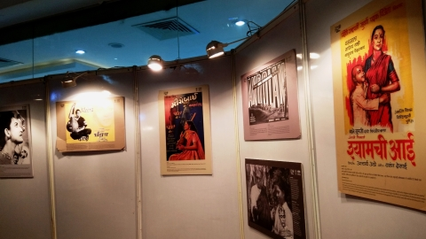 5th Rajasthan International Film Festival organises 'The Mahatma on Celluloid' themed poster exhibition
