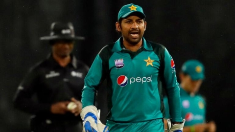 Pak captain Sarfraz gets four-match ban for racist slur