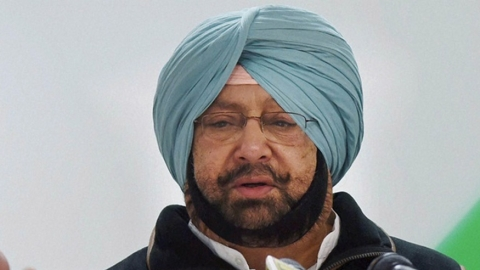 "Punjab CM Amarinder Singh accuses  Akali  leaders of ""playing games"" on the Kartarpur corridor"