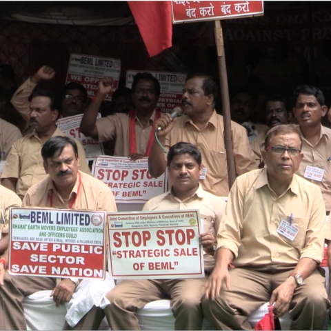 Backlash against Modi Government: Strike next week against privatisation of defence production