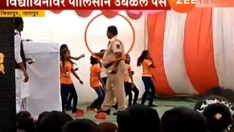 Nagpur: Cop who 'showered' cash on schoolgirls during Republic Day celebration shunted out