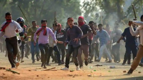 Tripura: A 12 hour shut down called by Six tribal parties against police firing on protesters