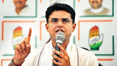It is Congress which can challenge and defeat BJP says Congress leader Sachin Pilot