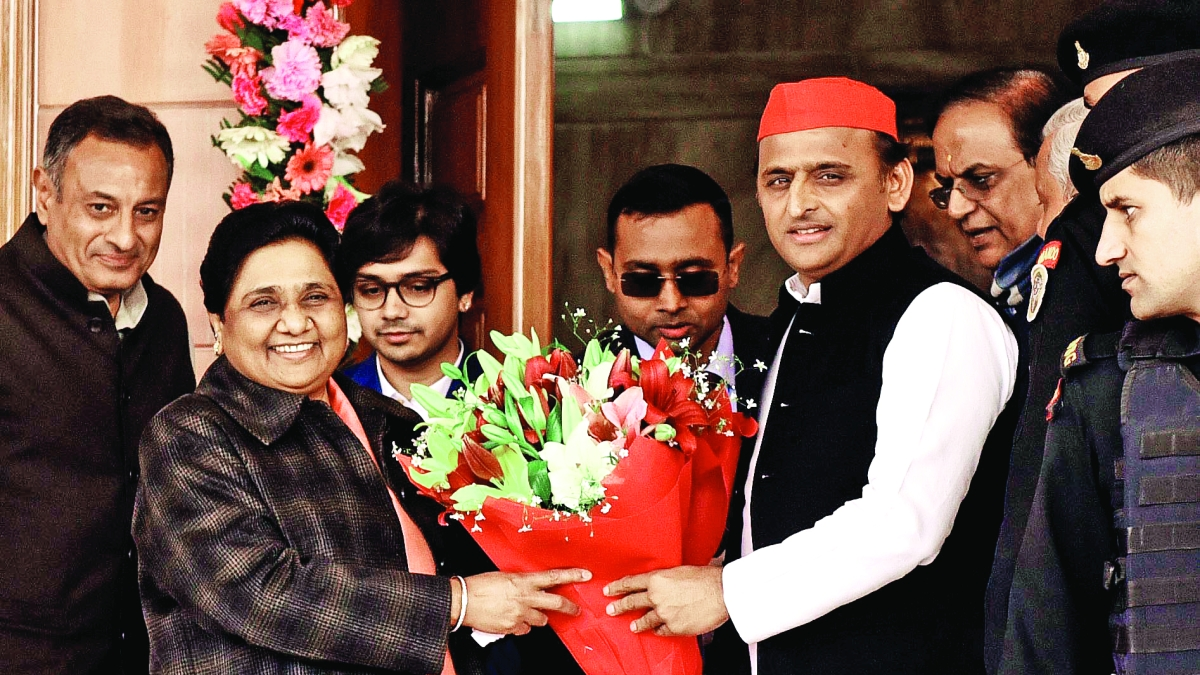 SP-BSP alliance takes the gas out of BJP's balloon
