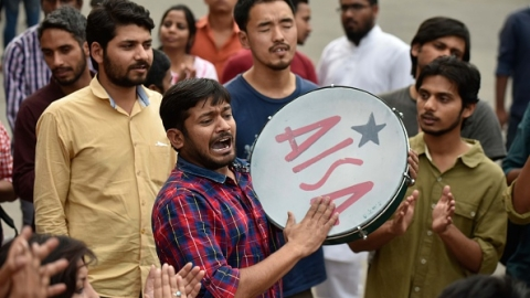 'Charge-sheets are illegal': Support pours in for JNU students over sedition case