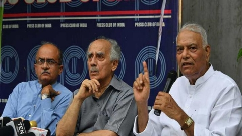 Rafale: Yahswant Sinha, Arun Shourie, Prashant Bhushan move SC seeking review of Dec 14  verdict