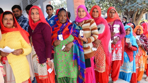 Amid allegations of rigging, over 75 pc voting recorded in Jind bypoll; counting on Thursday