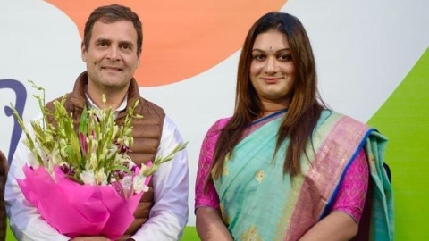 Apsara Reddy, first transgender appointed general secretary of Mahila Congress
