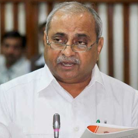 Having differences with BJP, dy CM Patel goes missing from 'Vibrant Gujarat' posters