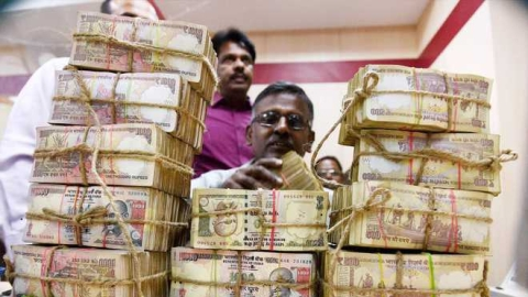 The demonetised notes of Rs 500 and Rs 1,000