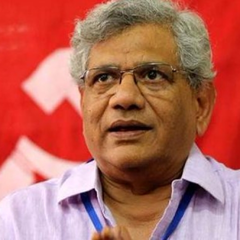 CPI(M) Sitaram Yechury, Photo courtesy: Twitter