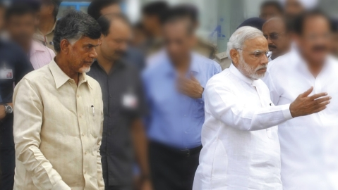 Andhra Pradesh: TDP head turning polls into a Naidu vs Modi affair