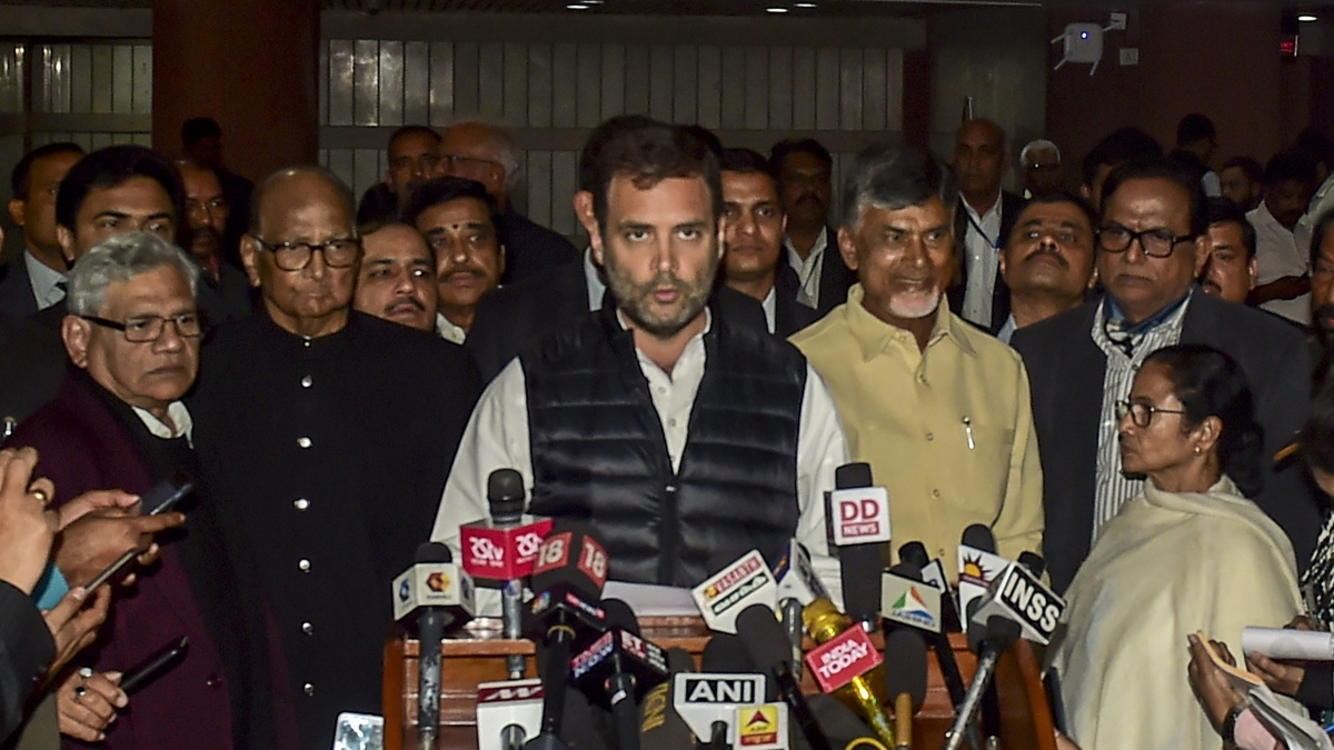 Opposition parties condemn Pulwama attack, express anguish over politicisation of soldiers sacrifices