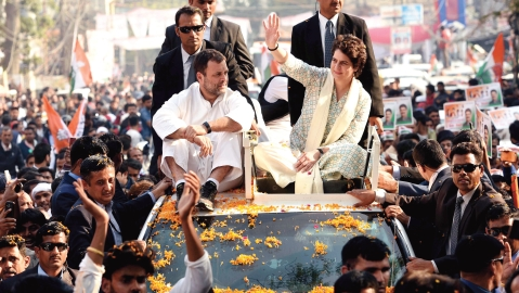 Priyanka Gandhi: Cometh the hour, cometh the lady