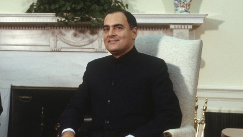 In remembrance of  Rajiv Gandhi, who was killed on this day 28 years ago