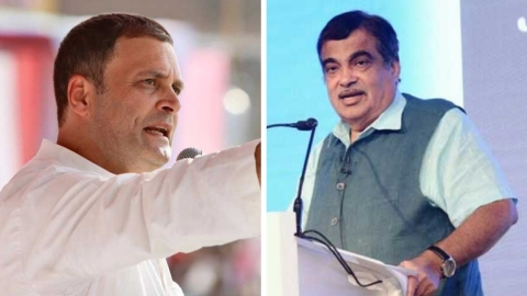 Rahul Gandhi: Gadkari only one in BJP with some guts