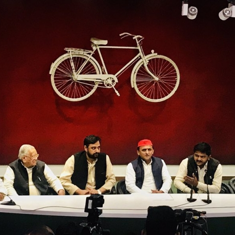 Akhilesh Yadav: While CRPF jawans' families mourn, BJP is busy with inaugurations