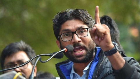 Gujarat: BJP threat-calls force college to cancel Jignesh Mevani event; principal quits in protest
