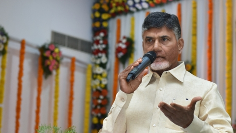 Andhra CM calls for protests during Modi's visit