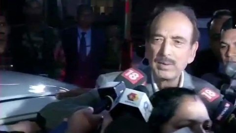 Headlines on Tuesday: Ghulam Nabi Azad after all party meet says opposition appreciates efforts by forces