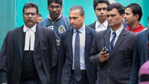 SC dismisses its 2 officials over change in order on personal appearance of Anil Ambani: Report