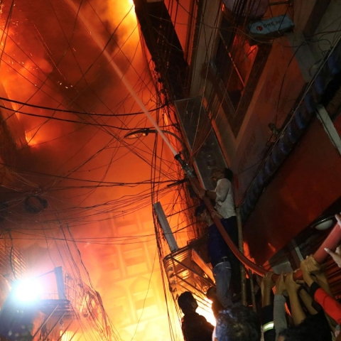 Fire kills 70 in Bangladesh capital