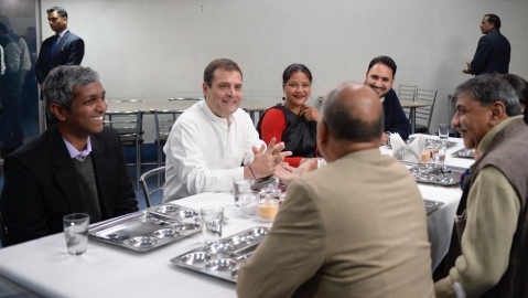 Rahul Gandhi meets small and medium business owners over lunch, attacks Modi govt for rising unemployment