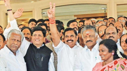 Tamil Nadu: Is AIADMK in a losing alliance with BJP-PMK? Piyush Goyal's victory sign is premature