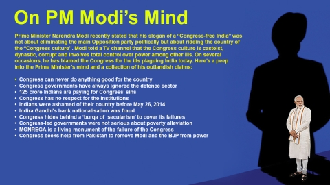 PM's lies nailed: So, Modi Ji, nothing happened during Congress rule?